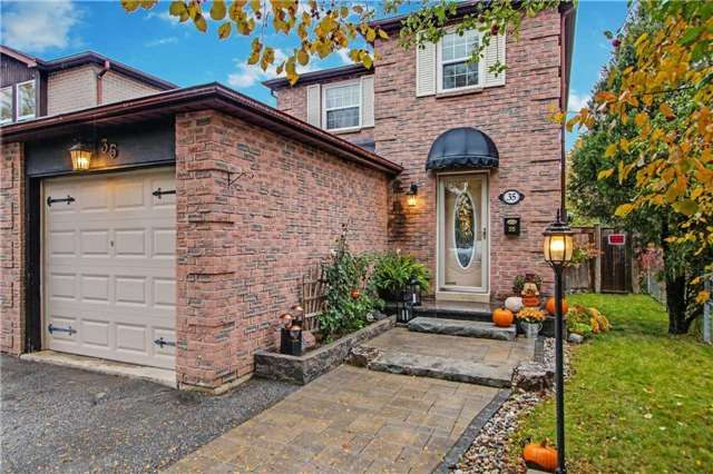 Main Photo: 35 Fisher Crescent in Ajax: Central West House (2-Storey) for sale : MLS®# E4293216