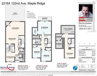 """Photo 37: 22164 122 Avenue in Maple Ridge: West Central Townhouse for sale in """"Golden Ears Place"""" : MLS®# R2588444"""