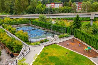 """Photo 17: 608 301 CAPILANO Road in Port Moody: Port Moody Centre Condo for sale in """"Residences at Suterbrook"""" : MLS®# R2484764"""