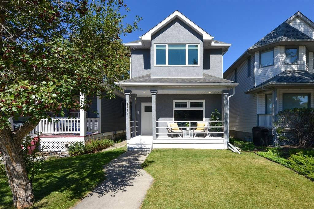 Main Photo: 2114 3rd Avenue NW in Calgary: West Hillhurst Detached for sale : MLS®# A1145089
