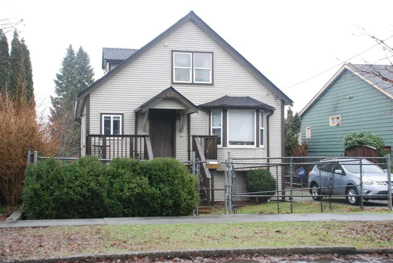 """Main Photo: 416 FADER Street in New Westminster: Sapperton House for sale in """"SAPPERTON"""" : MLS®# R2436533"""