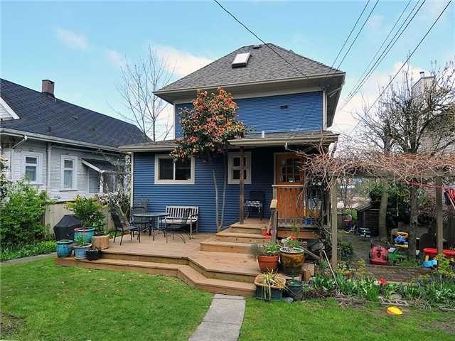 Photo 2: Photos: 258 E 16TH AV in : Main House for sale : MLS®# V884708