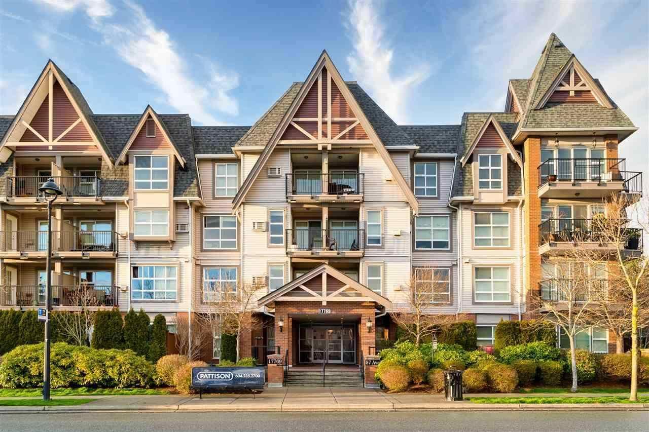 "Main Photo: 102 17769 57 Avenue in Surrey: Cloverdale BC Condo for sale in ""Cloverdowns Estate"" (Cloverdale)  : MLS®# R2572603"