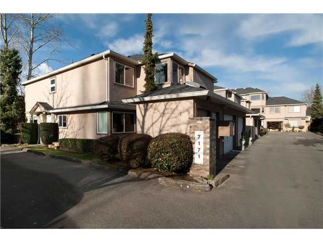 """Main Photo: 17 7171 BLUNDELL Road in Richmond: Brighouse South Townhouse for sale in """"PARC MERLIN"""" : MLS®# V922294"""