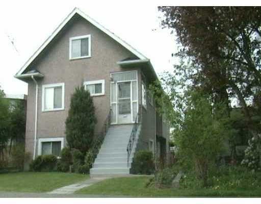 Main Photo: 333 E WOODSTOCK AV in : Main House for sale : MLS®# V376924