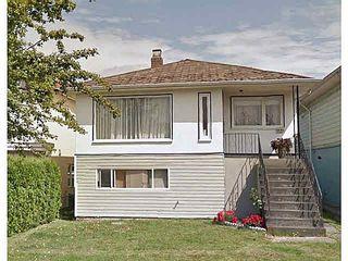 Photo 1: 3311 PARKER STREET in Vancouver: Renfrew VE House for sale (Vancouver East)  : MLS®# V1141910
