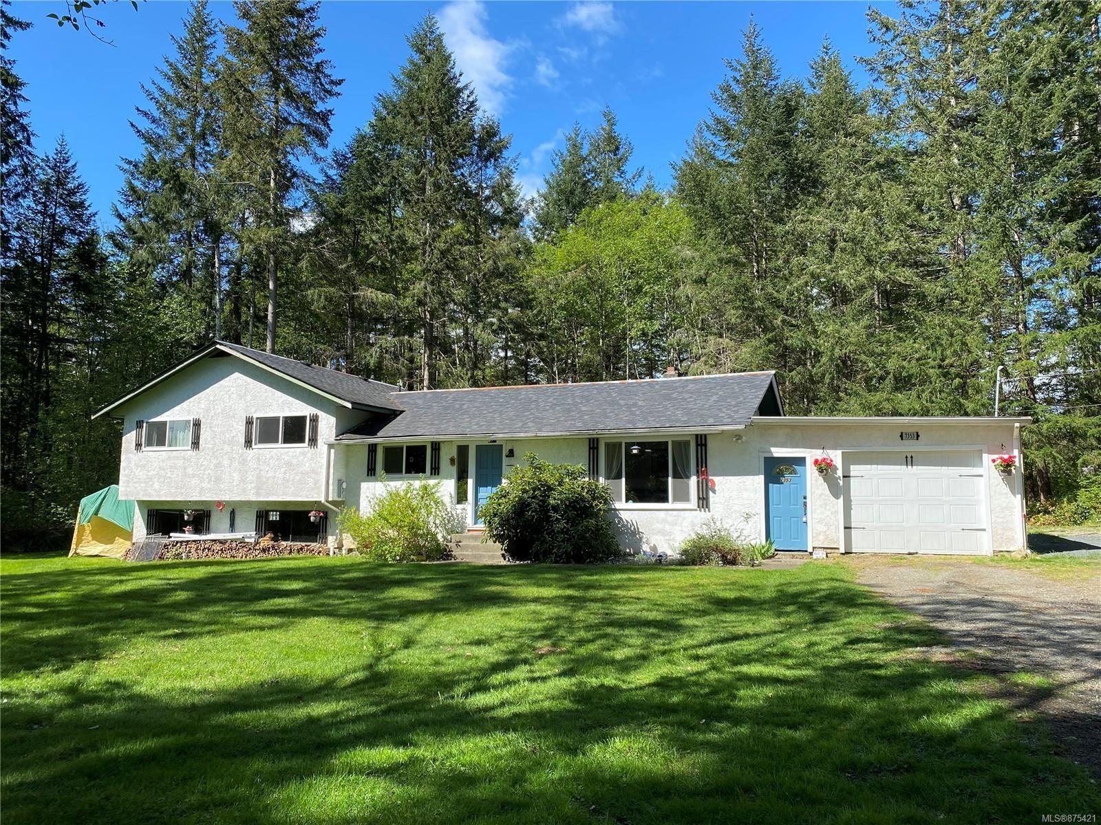 Main Photo: 7353 N Island Hwy in : CV Merville Black Creek House for sale (Comox Valley)  : MLS®# 875421