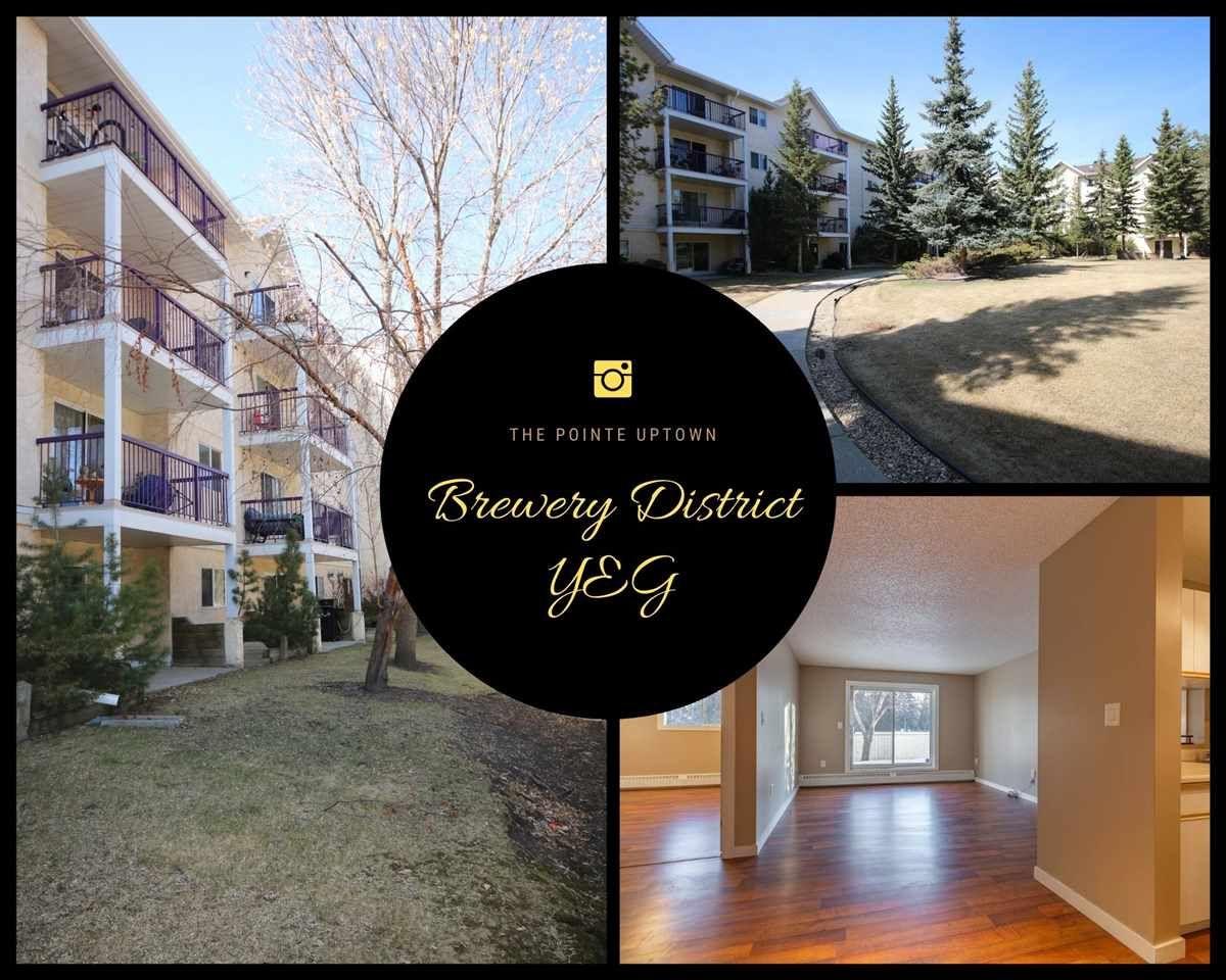 Main Photo: 107 10636 120 Street in Edmonton: Zone 08 Condo for sale : MLS®# E4239440