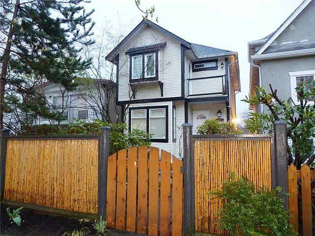 Main Photo: 1654 E 10TH AVENUE in : Grandview Woodland 1/2 Duplex for sale : MLS®# V999765