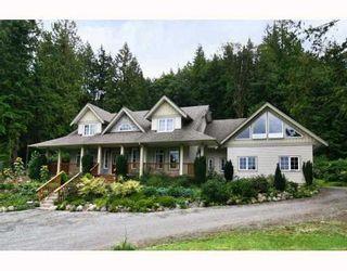Photo 1: 11630 284TH Street in Maple Ridge: Whonnock House for sale : MLS®# V809162