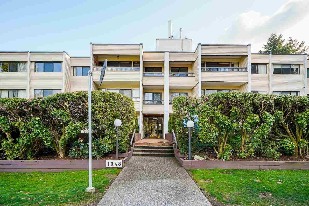 """Main Photo: 204 1048 KING ALBERT Avenue in Coquitlam: Central Coquitlam Condo for sale in """"BLUE MOUNTAIN MANOR"""" : MLS®# R2560966"""