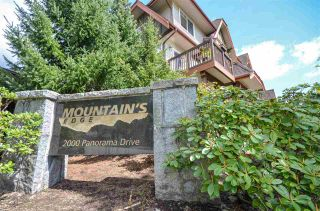 "Photo 2: 134 2000 PANORAMA Drive in Port Moody: Heritage Woods PM Townhouse for sale in ""MOUNTAIN'S EDGE"" : MLS®# R2575629"