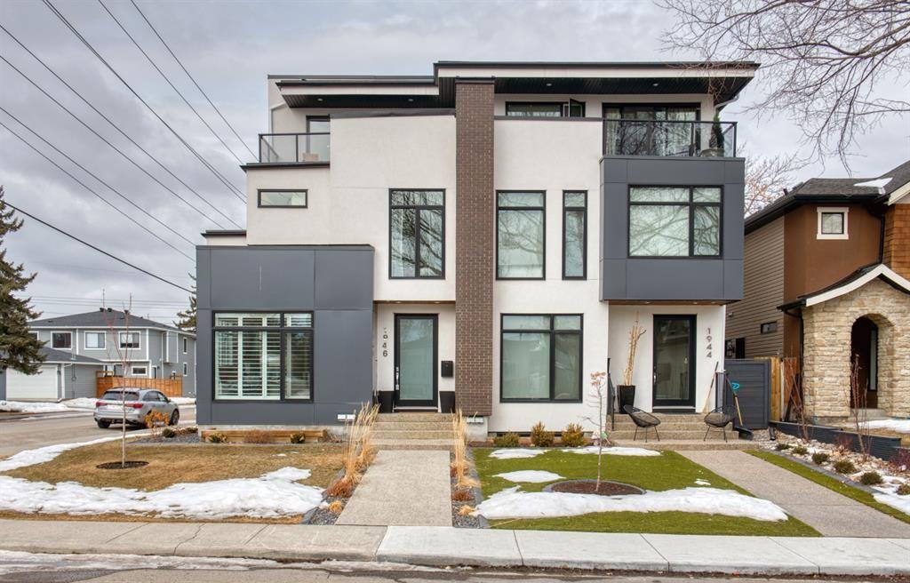 Main Photo: 1946 45 Avenue SW in Calgary: Altadore Semi Detached for sale : MLS®# A1077101
