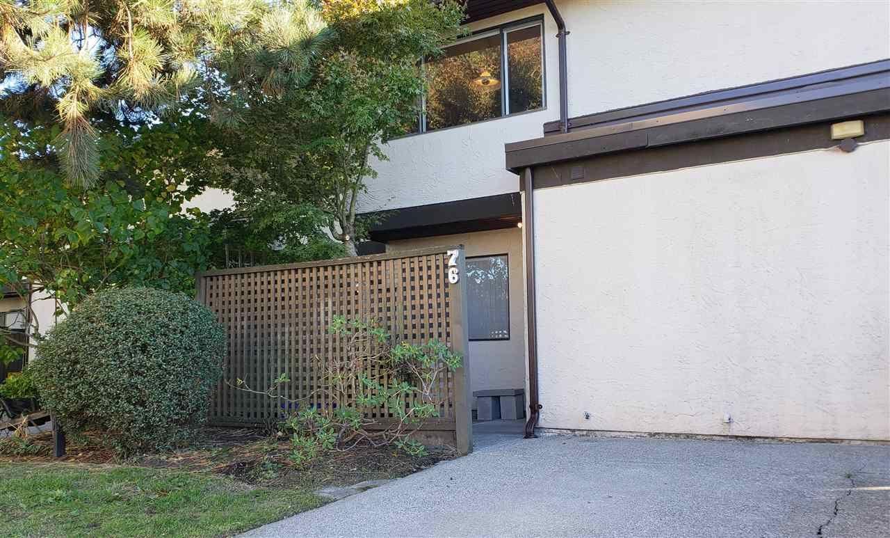 Main Photo: 76 11491 7TH AVENUE in : Steveston Village Townhouse for sale : MLS®# R2312924