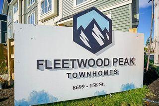"Photo 10: 6 8699 158 Street in Surrey: Fleetwood Tynehead Townhouse for sale in ""FLEETWOOD PEAK"" : MLS®# R2211833"
