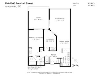 """Photo 35: 216 1500 PENDRELL Street in Vancouver: West End VW Condo for sale in """"Pendrell Mews"""" (Vancouver West)  : MLS®# R2625764"""