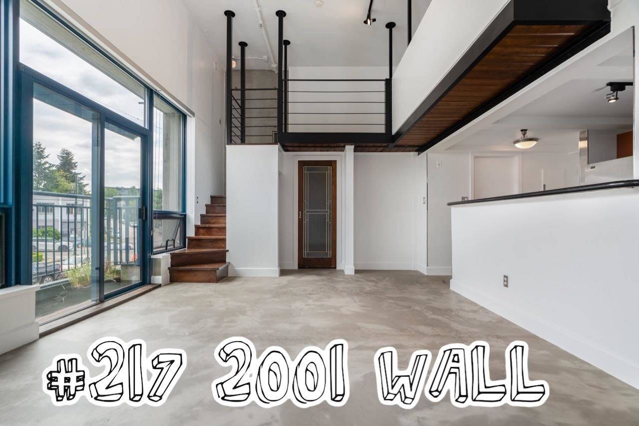"""Main Photo: 217 2001 WALL Street in Vancouver: Hastings Condo for sale in """"Cannery Row"""" (Vancouver East)  : MLS®# R2601895"""