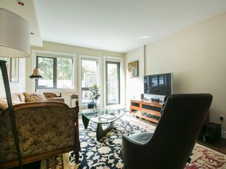 """Photo 3: 203 1477 FOUNTAIN Way in Vancouver: False Creek Condo for sale in """"FOUNTAIN TERRACE"""" (Vancouver West)  : MLS®# V1142594"""