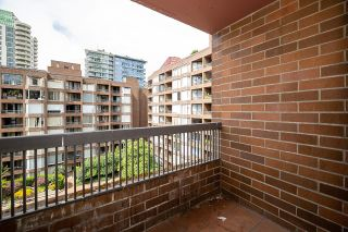 """Photo 22: 721 1333 HORNBY Street in Vancouver: Downtown VW Condo for sale in """"Anchor Point III"""" (Vancouver West)  : MLS®# R2610056"""