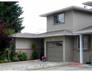 "Photo 1: 1 19270 119TH AV in Pitt Meadows: Central Meadows Townhouse for sale in ""MCMYN ESTATES"" : MLS®# V601787"