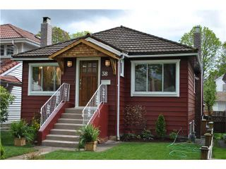 """Photo 1: 38 W 20TH AV in Vancouver: Cambie House for sale in """"CAMBIE VILLAGE"""" (Vancouver West)  : MLS®# V824923"""