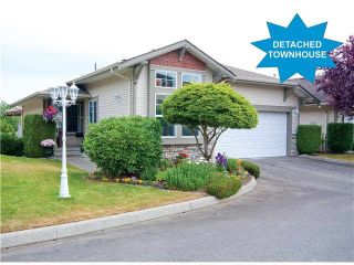 "Photo 1: 6 3635 BLUE JAY Street in Abbotsford: Abbotsford West Townhouse for sale in ""COUNTRY RIDGE"" : MLS®# F1448866"