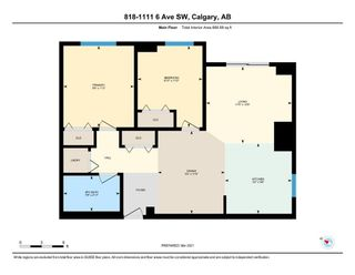 Photo 29: 818 1111 6 Avenue SW in Calgary: Downtown West End Apartment for sale : MLS®# A1086515