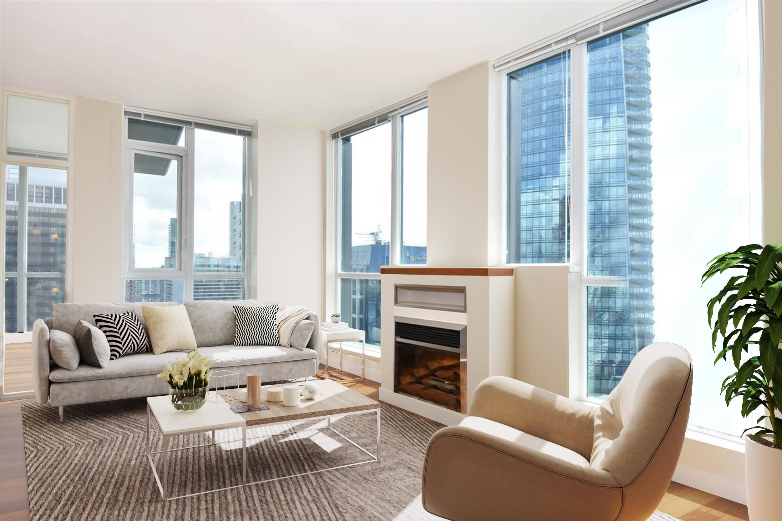 """Main Photo: 3704 1189 MELVILLE Street in Vancouver: Coal Harbour Condo for sale in """"THE MELVILLE"""" (Vancouver West)  : MLS®# R2624589"""