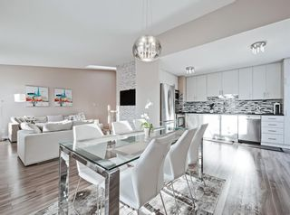 Photo 9: 119 Prominence Heights SW in Calgary: Patterson Row/Townhouse for sale : MLS®# A1070136