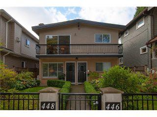 Photo 1: # 446 448 E 44TH AV in Vancouver: Fraser VE House for sale (Vancouver East)  : MLS®# V1088121
