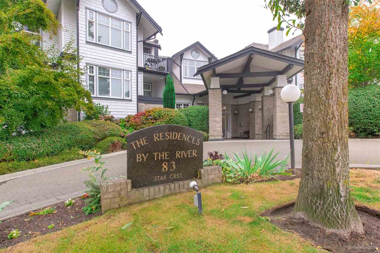 "Main Photo: 304 83 STAR Crescent in New Westminster: Queensborough Condo for sale in ""THE RESIDENCES BY THE RIVER"" : MLS®# R2497901"