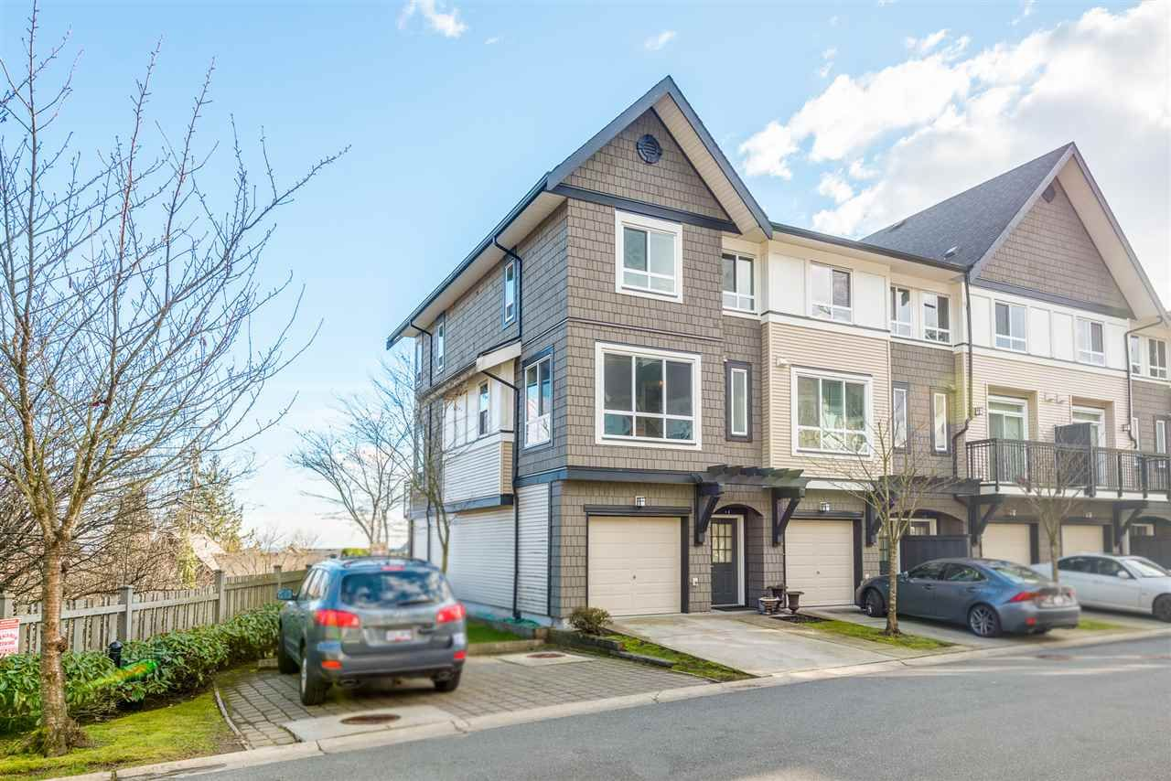 Main Photo: 9 1295 SOBALL STREET in Coquitlam: Burke Mountain Townhouse for sale : MLS®# R2540553