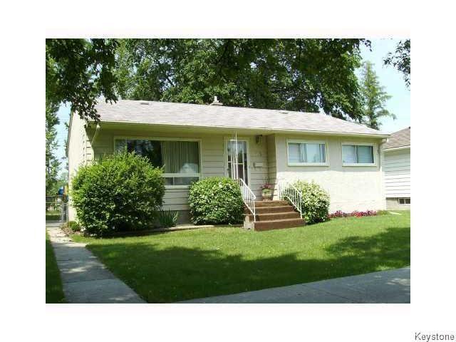 Main Photo: 175 Havelock Avenue in WINNIPEG: St Vital Residential for sale (South East Winnipeg)  : MLS®# 1604846