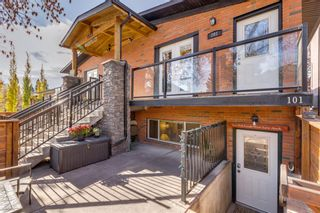 Main Photo: 101 1929 25 Street SW in Calgary: Richmond Row/Townhouse for sale : MLS®# A1155074