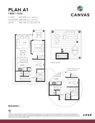 Photo 2: 708 396 E 1st Avenue in #708-396 E 1st Ave.: False Creek Condo for sale (Vancouver West)  : MLS®# Presale