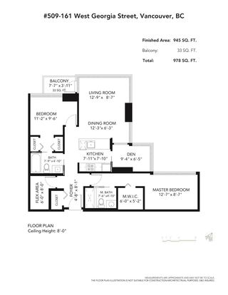 Photo 35: 509 161 W GEORGIA Street in Vancouver: Downtown VW Condo for sale (Vancouver West)  : MLS®# R2606857