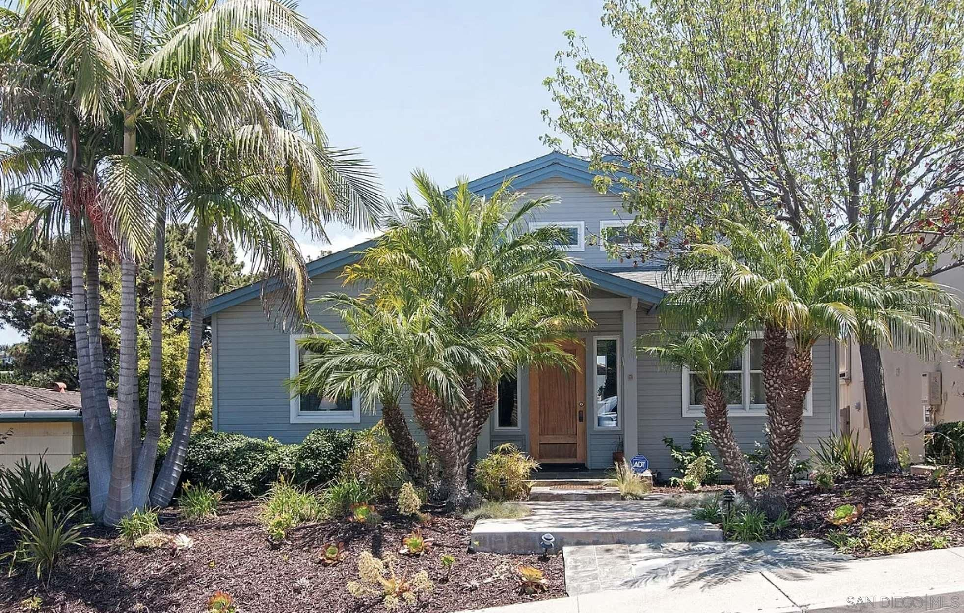 Main Photo: POINT LOMA House for rent : 4 bedrooms : 1833 Tustin Street in San Diego