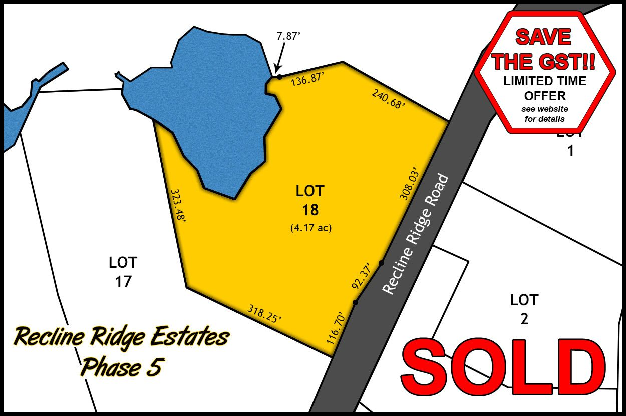 Recline Ridge Estates Phase V - Lot 18