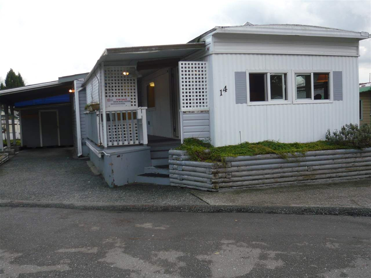 Main Photo: 14 201 CAYER STREET in Coquitlam: Maillardville Manufactured Home for sale : MLS®# R2033187