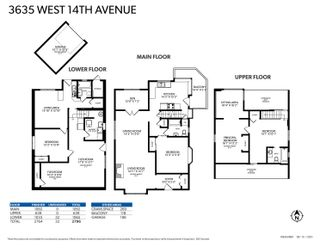 """Photo 36: 3635 W 14TH Avenue in Vancouver: Point Grey House for sale in """"POINT GREY"""" (Vancouver West)  : MLS®# R2615052"""