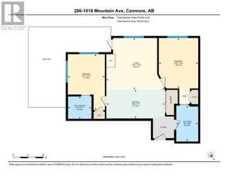 Photo 21: 206, 1818 MOUNTAIN Street in Canmore: Condo for sale : MLS®# A1153034