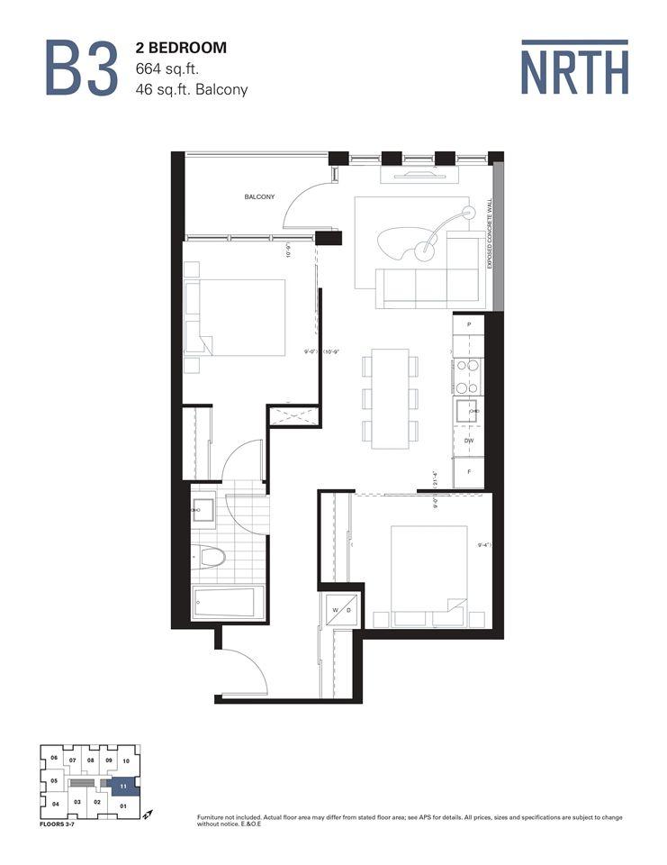 Photo 6: Photos: 311 2842-2856 Gottingen Street in Halifax: 3-Halifax North Residential for sale (Halifax-Dartmouth)  : MLS®# 202024444
