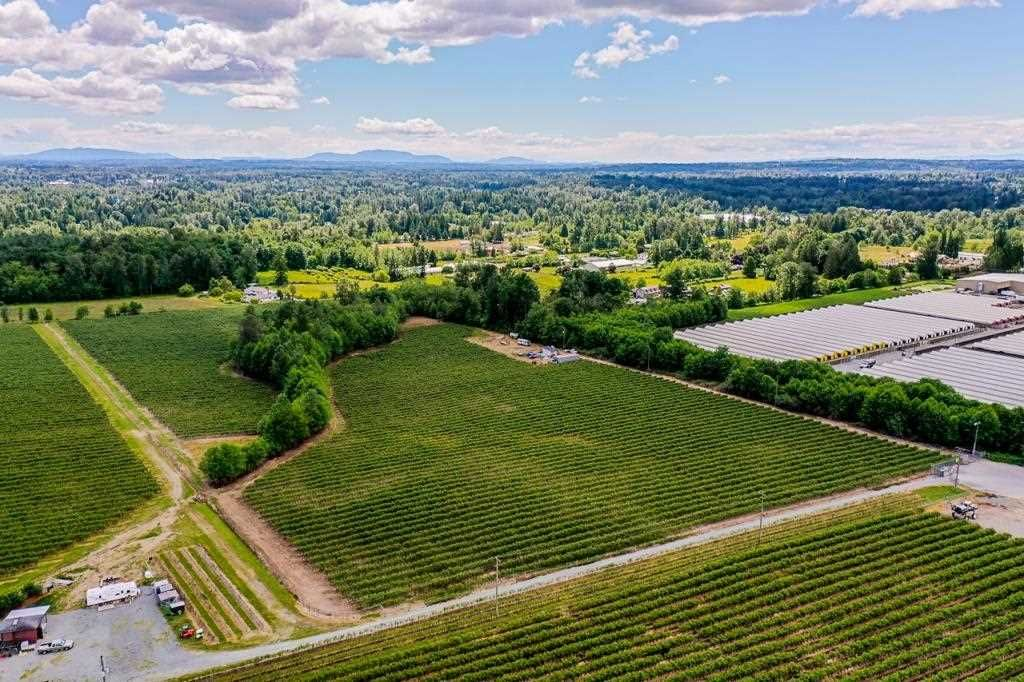 Main Photo: 21.44AC 240 STREET in Langley: Langley City Agri-Business for sale : MLS®# C8038637