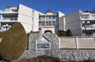 """Photo 1: 417 1219 JOHNSON Street in Coquitlam: Canyon Springs Condo for sale in """"MOUNTAINSIDE PLACE"""" : MLS®# R2135462"""