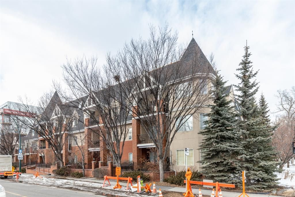 Main Photo: 210 1110 5 Avenue NW in Calgary: Hillhurst Apartment for sale : MLS®# A1072681