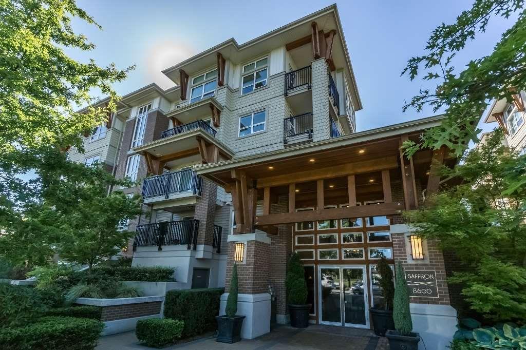 """Main Photo: 111 8600 PARK Road in Richmond: Brighouse Condo for sale in """"SAFFRON"""" : MLS®# R2114504"""
