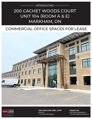 Photo 9: 104-Rma 200 Cachet Woods Court in Markham: Cachet Property for lease : MLS®# N5336957