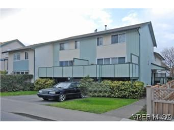 Main Photo: 1 26 Menzies St in VICTORIA: Vi James Bay Row/Townhouse for sale (Victoria)  : MLS®# 494290