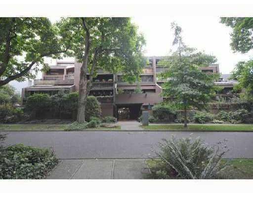 Main Photo: # 311 1855 NELSON ST in Vancouver: West End VW Condo for sale ()  : MLS®# V822671