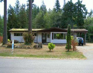 Photo 1: 3295 KRAUS Road in Roberts_Creek: Roberts Creek House for sale (Sunshine Coast)  : MLS®# V612637